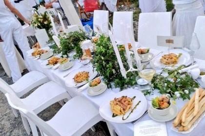 Cena in bianco Minervino