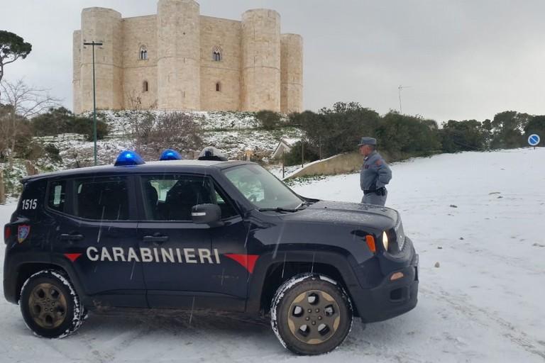 Castel del Monte innevato