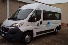 Nuovo automezzo per il trasporto disabili in dotazione