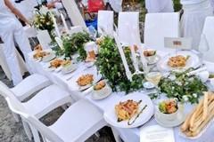 Tutto pronto per la Cena in Bianco in Villa Faro