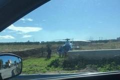 Operazione dei Carabinieri su Minervino, impegnato elicottero