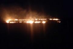 A fuoco bosco e sterpaglie, domenica di duro lavoro per i Vigili del fuoco