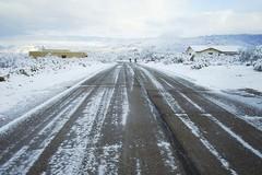 Neve e vento, assicurata la percorribilità delle strade provinciali
