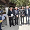 Anche il saluto dei Carabinieri di Minervino M. per il congedo del Tenente Bonfardino