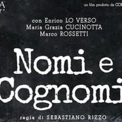 """""""Nomi e Cognomi"""", in anteprima all'Uci Cinema di Molfetta giovedì ore 9,30"""