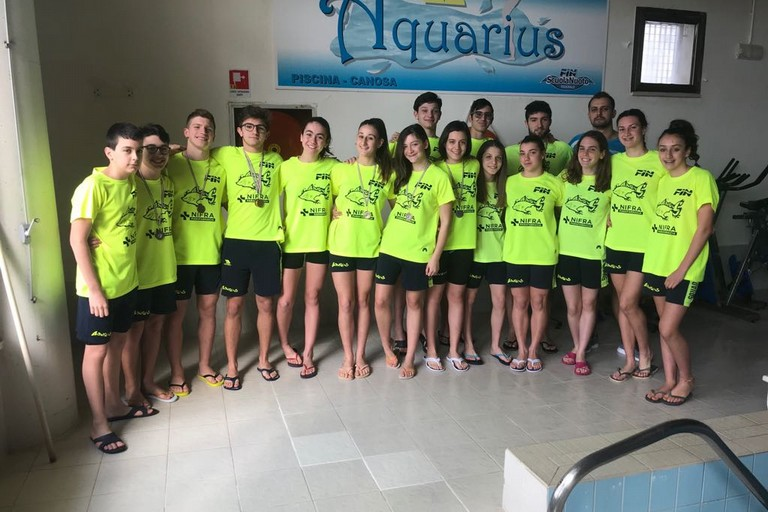 """Ottime prestazione degli atleti della Aquarius al """"Bari Swimming Contest"""""""