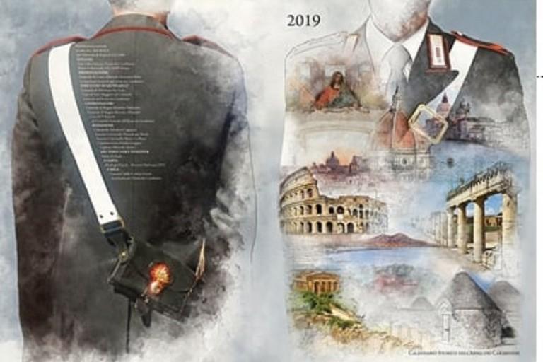 Calendario storico 2019 dell'Arma dei Carabinieri