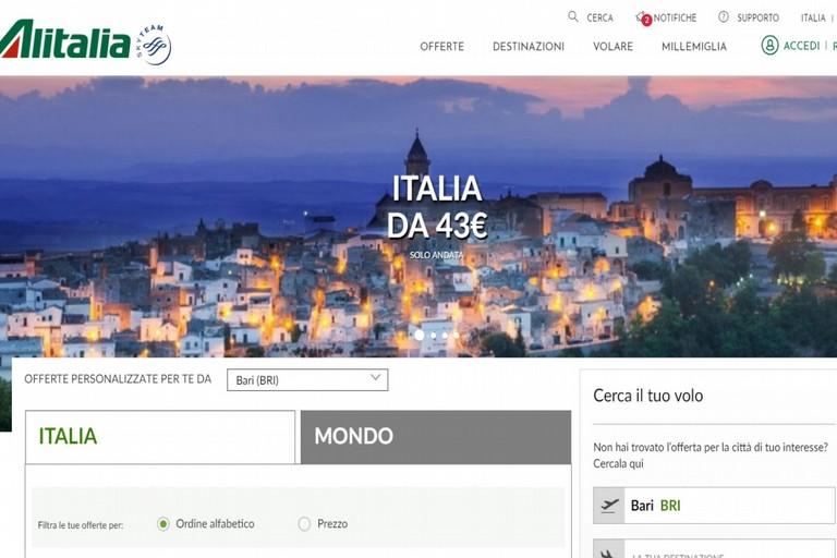 Sito Alitalia