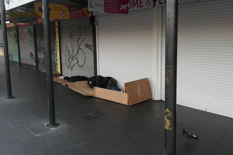 miseria povertà. <span>Foto Vincenzo Cassano</span>