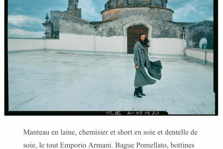 Immagine sulla rivista francese Gala. <span>Foto Ugo Richard</span>