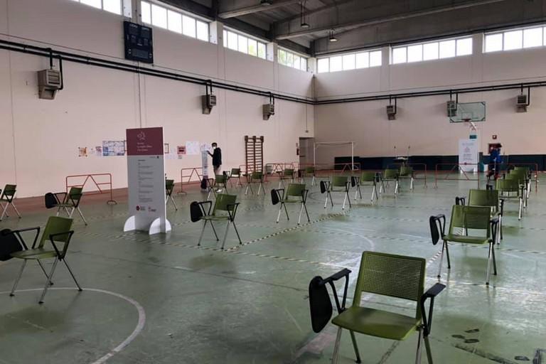 Centro vaccinale a Minervino