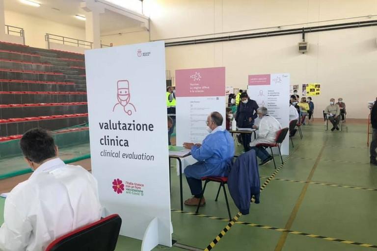 Centro vaccinale Minervino