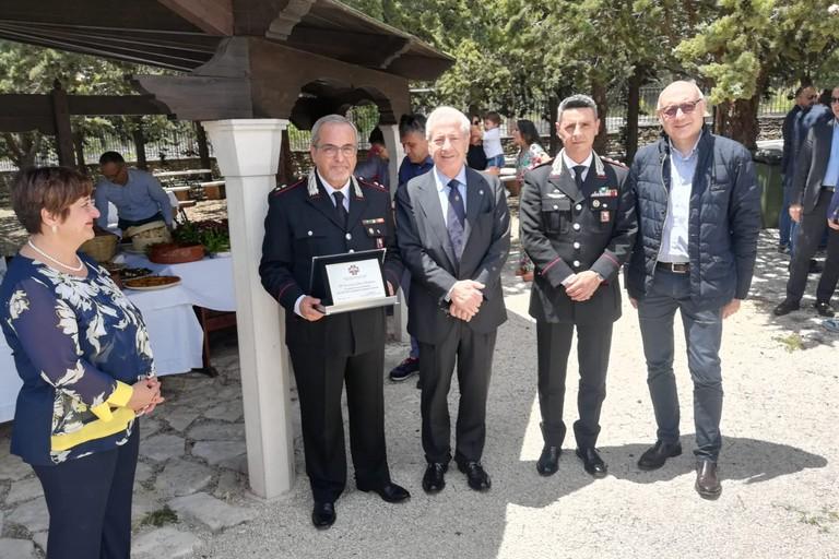 Il congedo del Tenente Giosuè Bonfardino