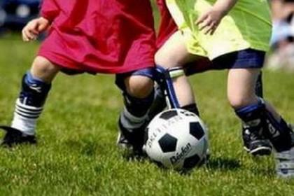 bambini calcio. <span>Foto Savio Scarpa</span>