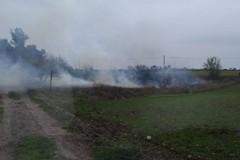 Incendio questa mattina a pochi chilometri dal Castel del Monte