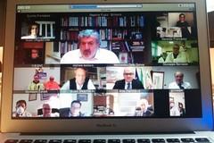 Coronavirus, proposte e attività della Asl Bat in video conferenza con Emiliano