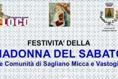 Festa Maria SS.ma del Sabato: Il Programma di oggi.