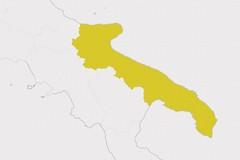 Covid, la Puglia resta gialla ma preoccupano le varianti