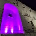 Il Castello di Minervino si tinge di rosa a sostegno di LILT