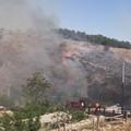 Grave incendio a Minervino, Mancini: «Rientrate urgentemente nelle vostre abitazioni»