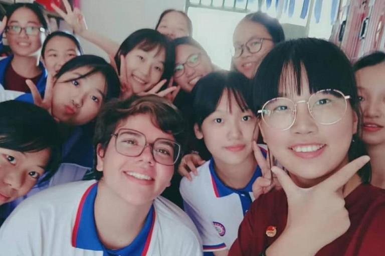 Claudia Spineto in Cina