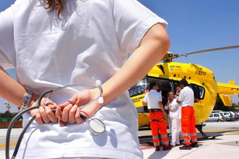 Elicottero Soccorso Ambulanza