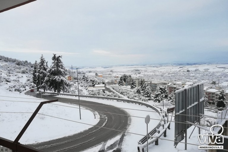 Neve a Minervino